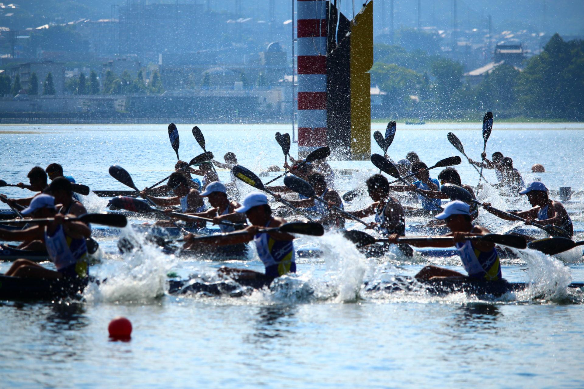 【スプリント】第74回 国民体育大会 カヌー競技