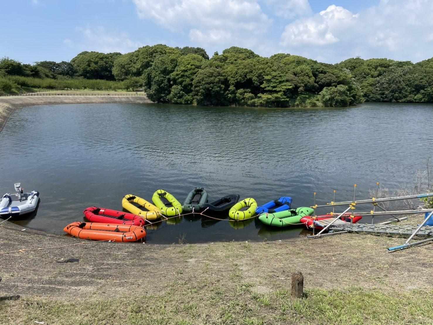 【イベントレポート】知多市にて、佐布里(そうり)池カヌー体験を実施しました!